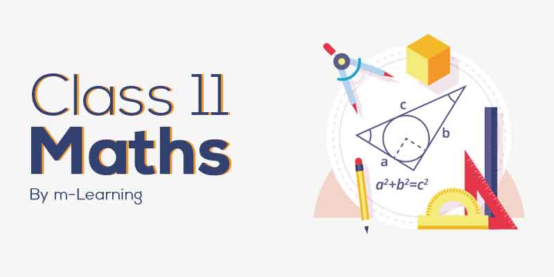 M Learning Offline Course for Class 11th - Maths