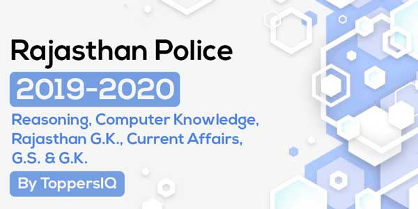 Rajasthan Police 2019 - 2020 | Complete Course